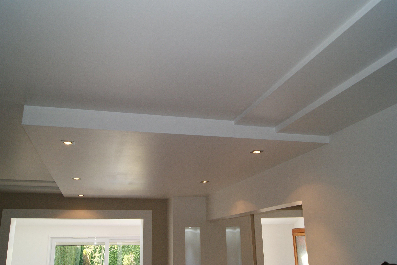 Plafonds structur s for Enduire un plafond en placo