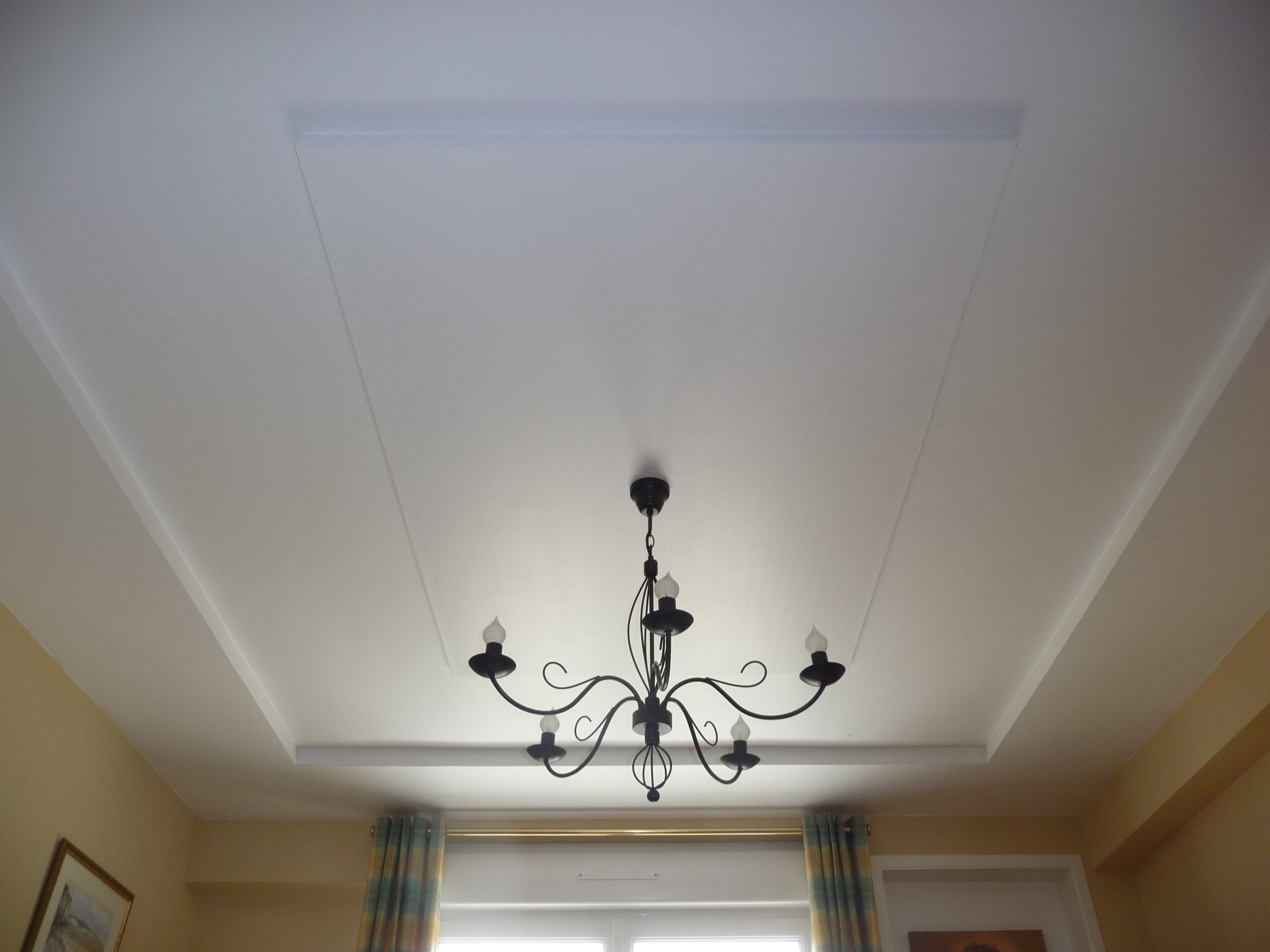 Faux plafond sur poutrelle hourdis polystyrene aix en provence service trav - Renovation plafond dalle polystyrene ...